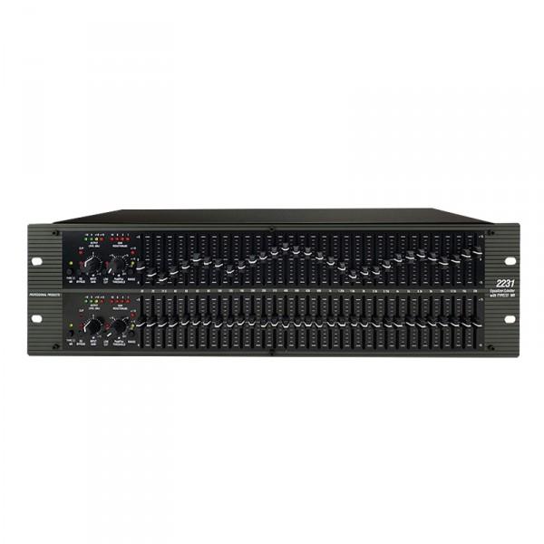 均衡器231 1231 2231專業雙31段3類杜比降噪壓限噪聲門舞台演出