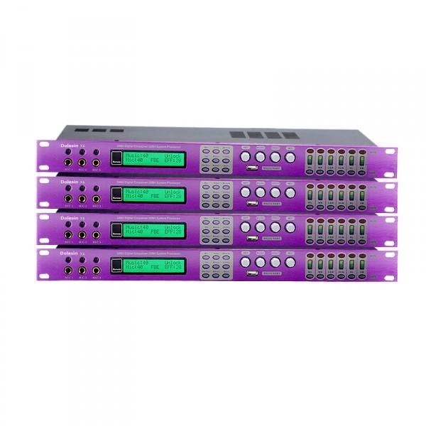 X6專業KTV前級效果器防嘯叫卡拉OK混響器家用前置數字處理器演出