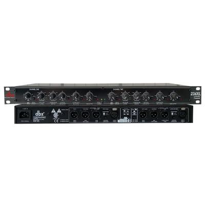 234XL專業兩通道三分頻器電子分頻器超低音舞台演出戶外音響酒吧