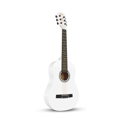 Guitarist單板兒童30寸優雅白〖民謠〗小吉他