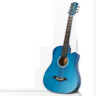 Guitarist單板民謠吉他初學者女生男38寸新手入門學生木吉他樂器