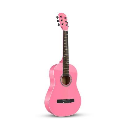 Guitarist單板兒童30寸亮粉色〖民謠〗小吉他